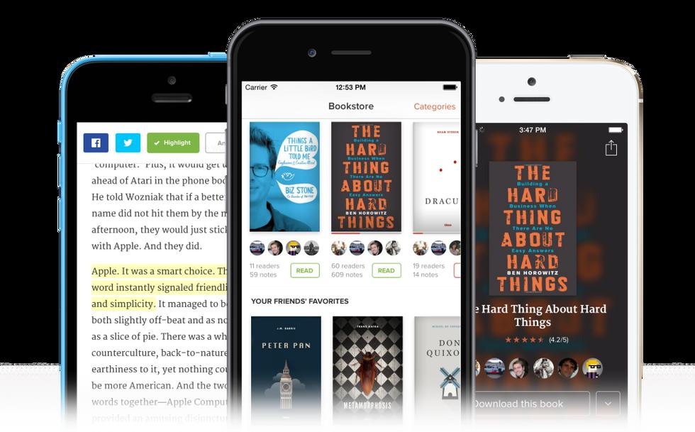Glose sfida Kindle, ma il social reading è una partita persa