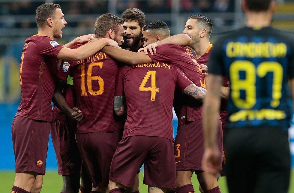 E' la Roma l'anti-Juventus. Nainggolan trascinatore di Spalletti