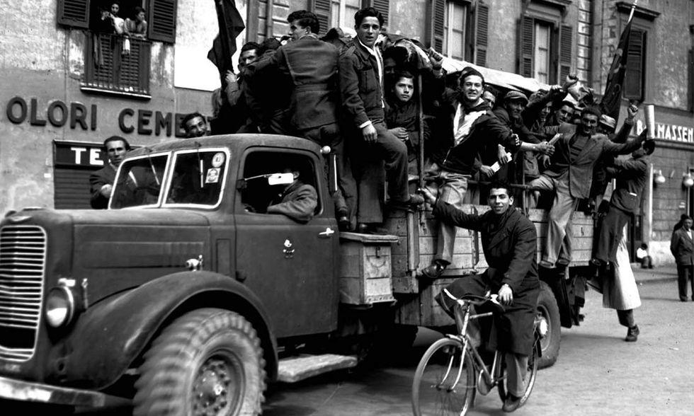 Partigiani per le strade di Roma