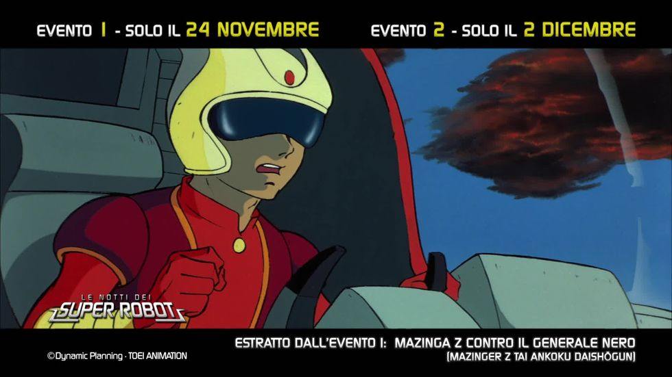 """Le Notti dei Super Robot: """"Mazinga Z contro il Generale nero"""""""
