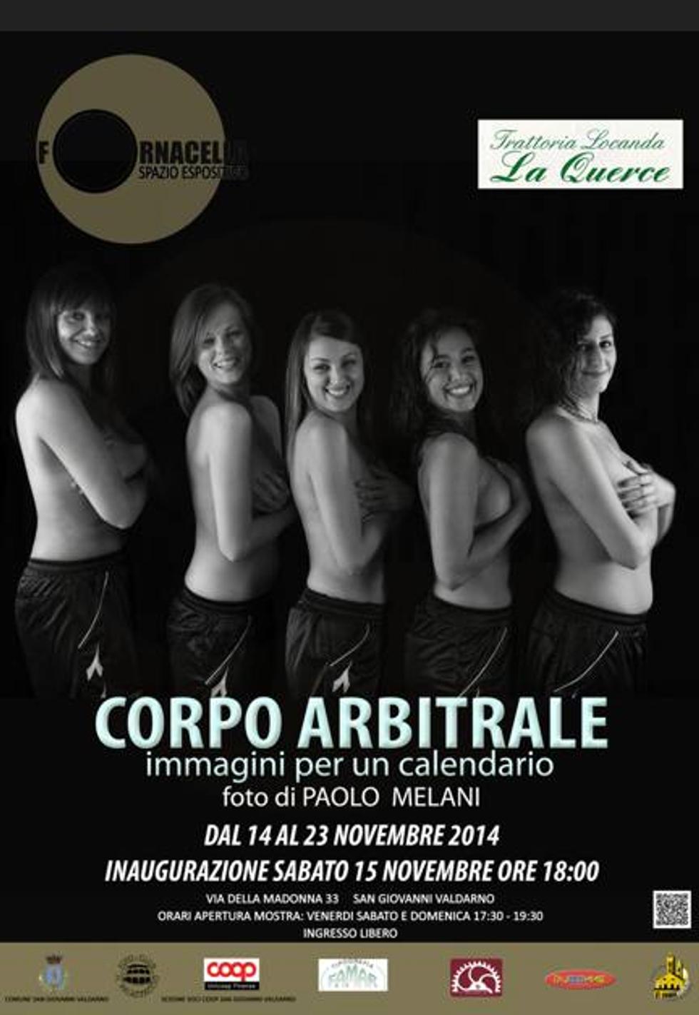 """""""Corpo Arbitrale"""", il calendario 2015 delle donne arbitro è sexy"""