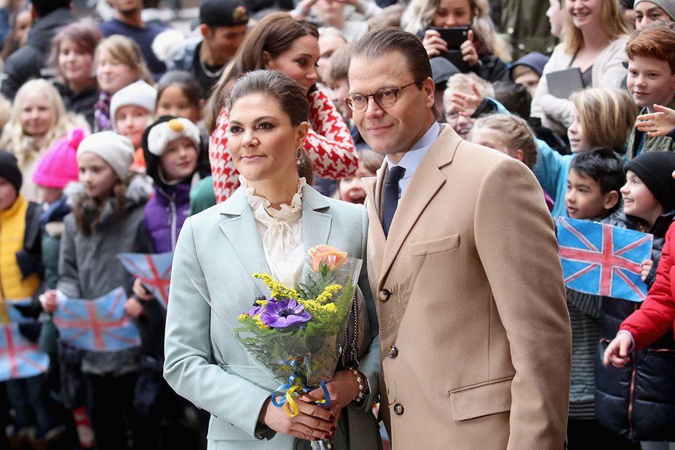 La Principessa Victoria di Svezia con il marito Daniel