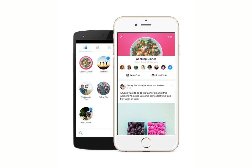 Facebook, anche i Gruppi ora vivono in un'app separata