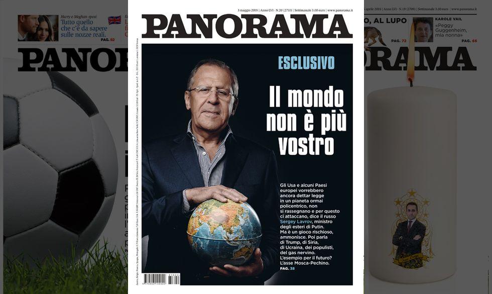 Panorama copertina, 3 maggio 2018