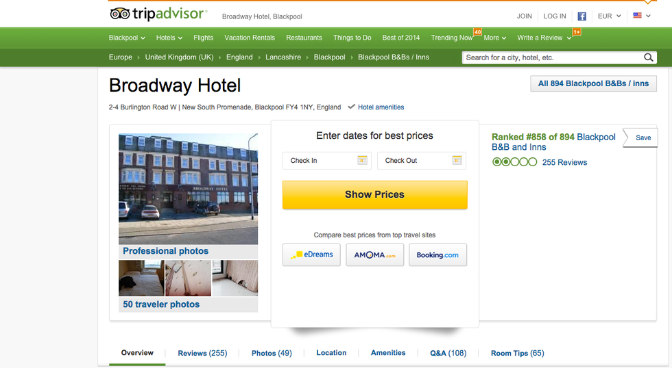 Ecco l'hotel da incubo di Liverpool