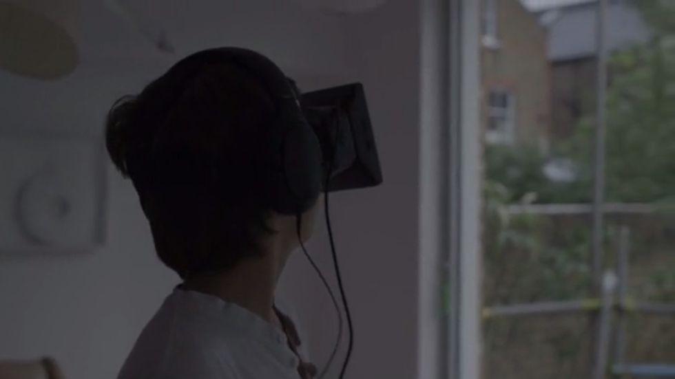 L'uomo che vuole passare 28 giorni nella realtà virtuale