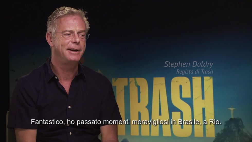 TRASH, intervista a Stephen Daldry