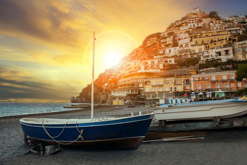 La spiaggia di Sorrento, tra i nuovi Bollini blu del 2018