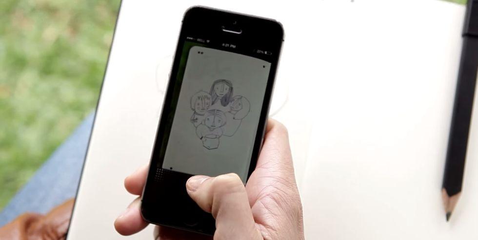Moleskine Smart Notebook, un'app per digitalizzare qualsiasi schizzo