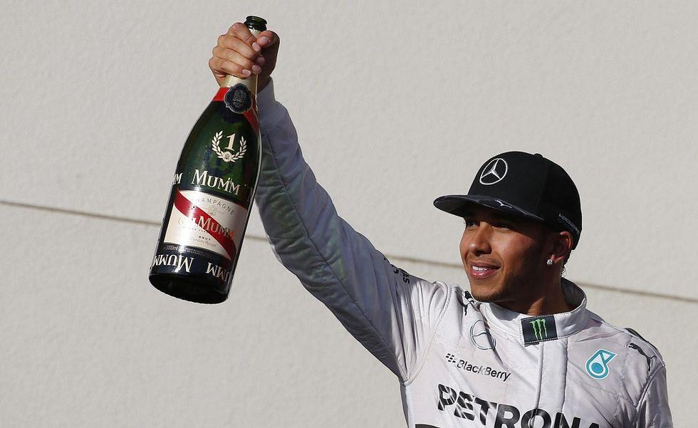 Hamilton è il campione del mondo 2014