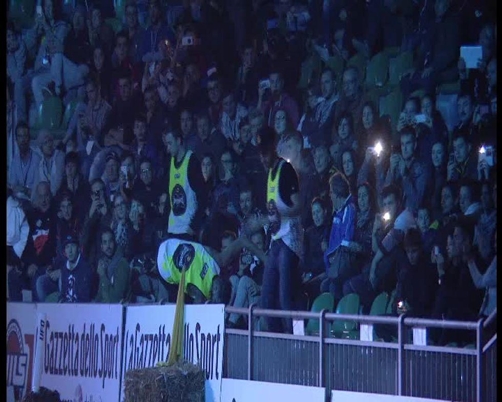 Lo spettacolo del Supercross a Genova