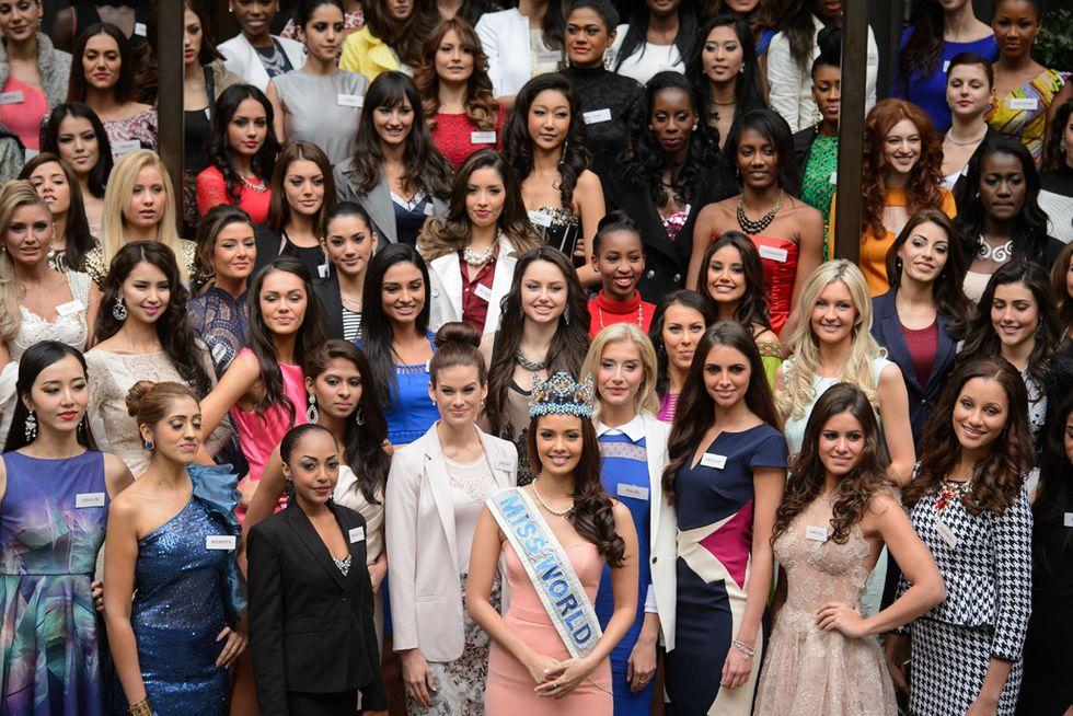 Miss Mondo, a Londra la sfilata delle bellissime