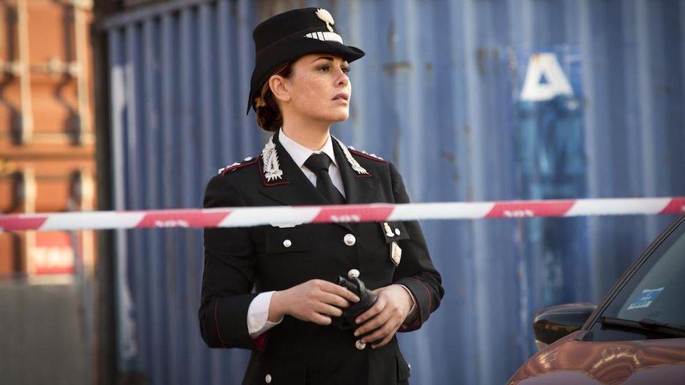 Il capitano Maria Vanessa Incontrada