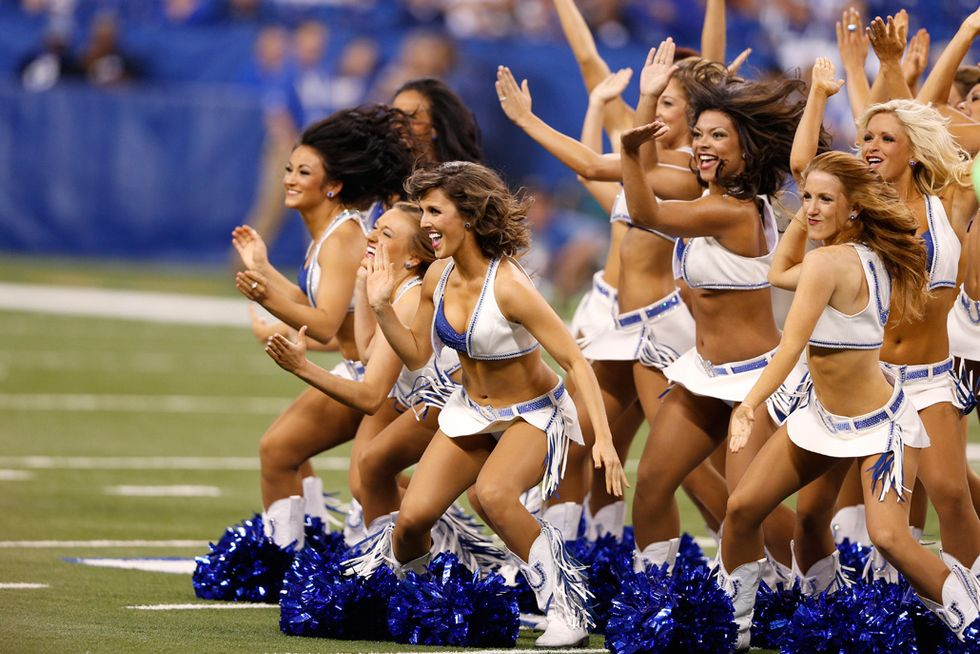 Cheerleader: Indianapolis Colts