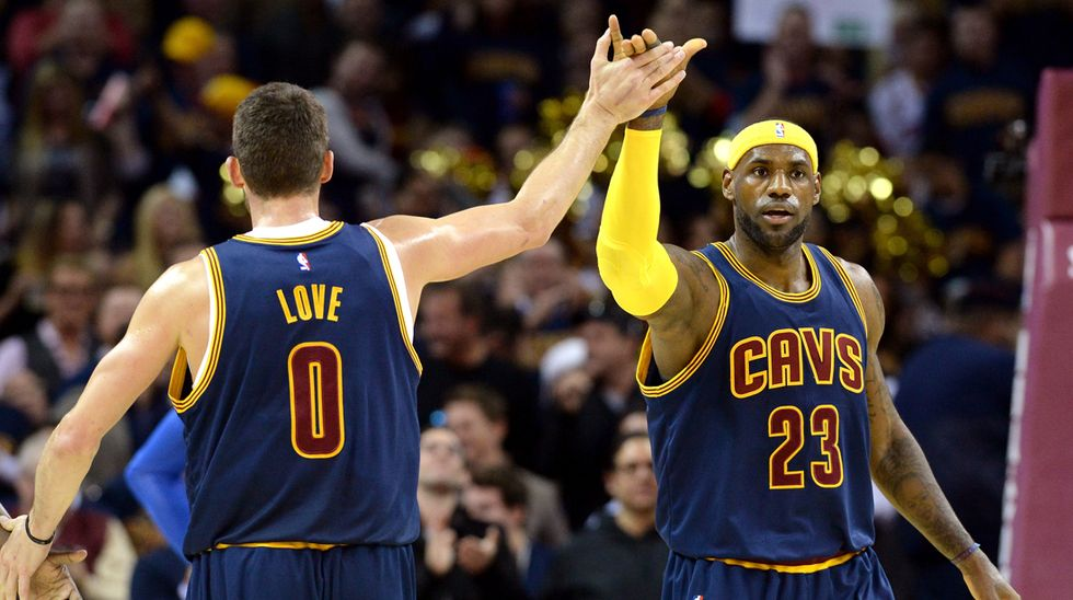 Nba: LeBron James, Kevin Love e la convivenza impossibile