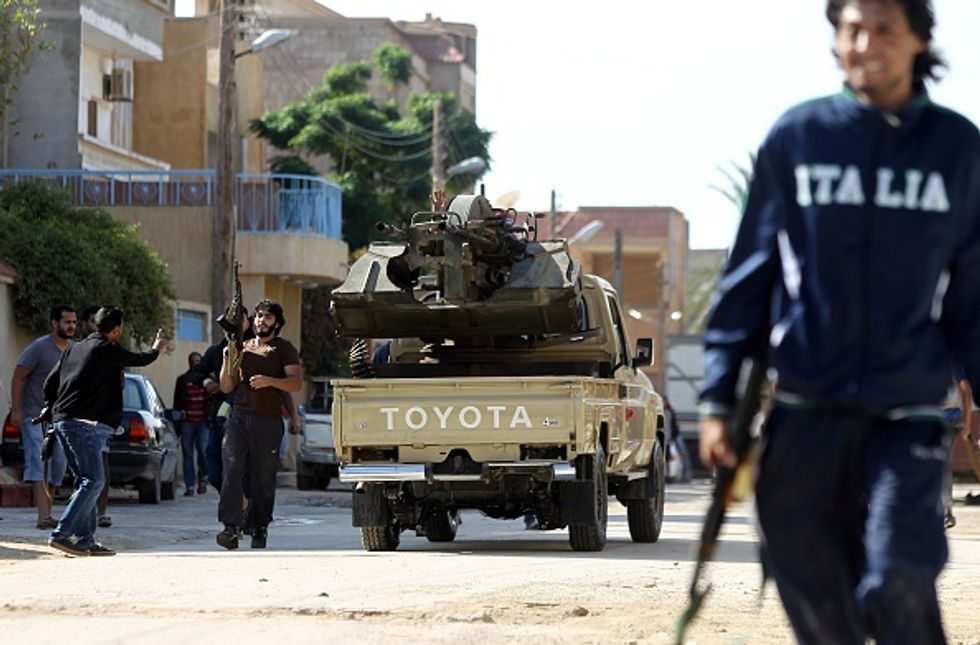 Guerra in Libia: il grande errore dell'Italia