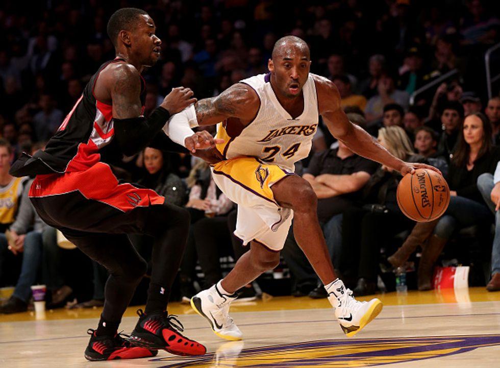 Nba, Kobe Bryant: tripla doppia e record contro Toronto