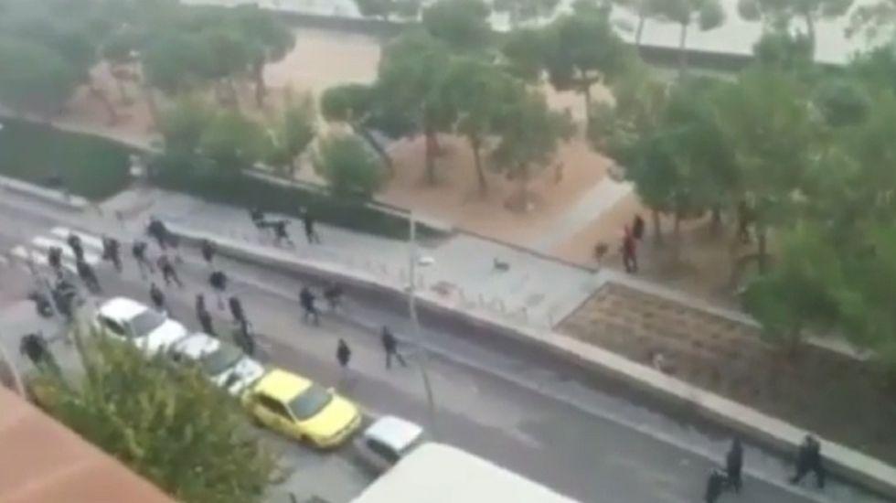 Un morto prima di Atletico Madrid-Deportivo La Coruna (ma si gioca)- VIDEO