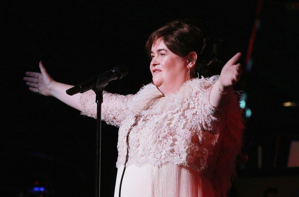Susan Boyle: primo fidanzato a 53 anni