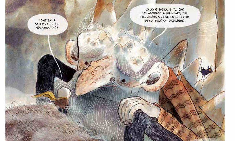 'L'uomo montagna': viaggio, vita e morte in un fumetto commovente