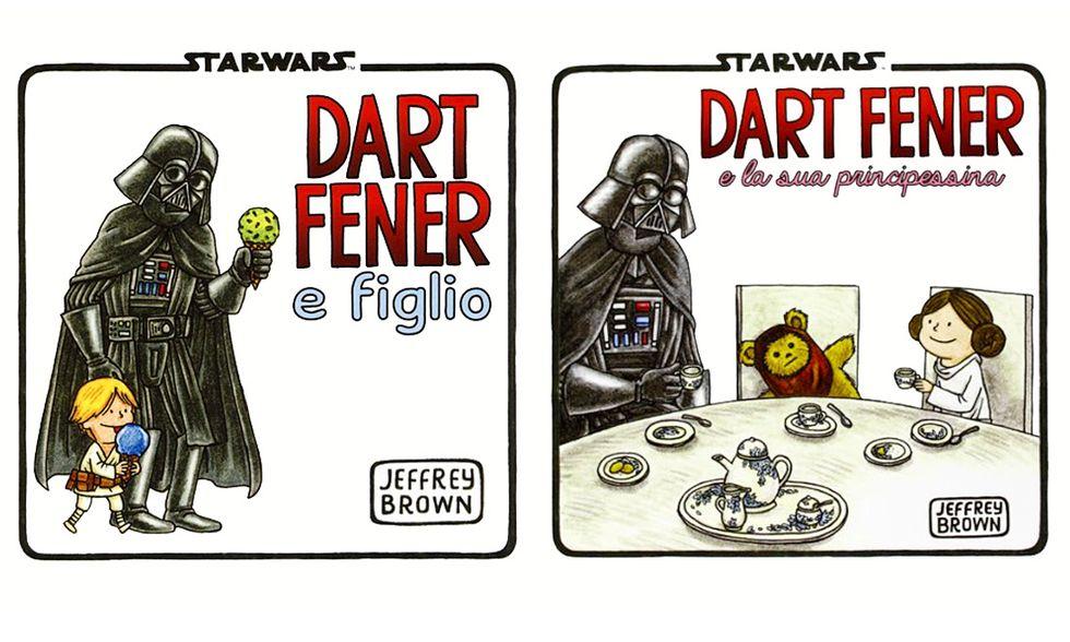 Star Wars: Dart Fener, Luke e Leia a fumetti