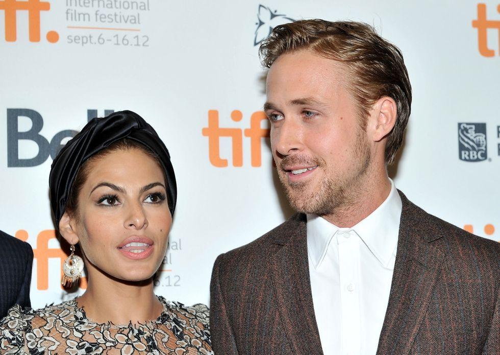 Eva Mendes e Ryan Gosling presentano la figlia Esmeralda