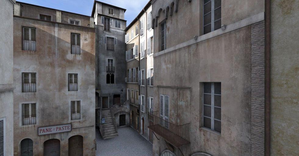 Il Ghetto di Roma ricostruito in 3D