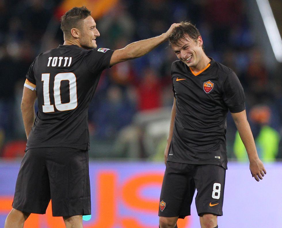 Champions League, scommesse: il City teme Totti, plebiscito per la Juventus