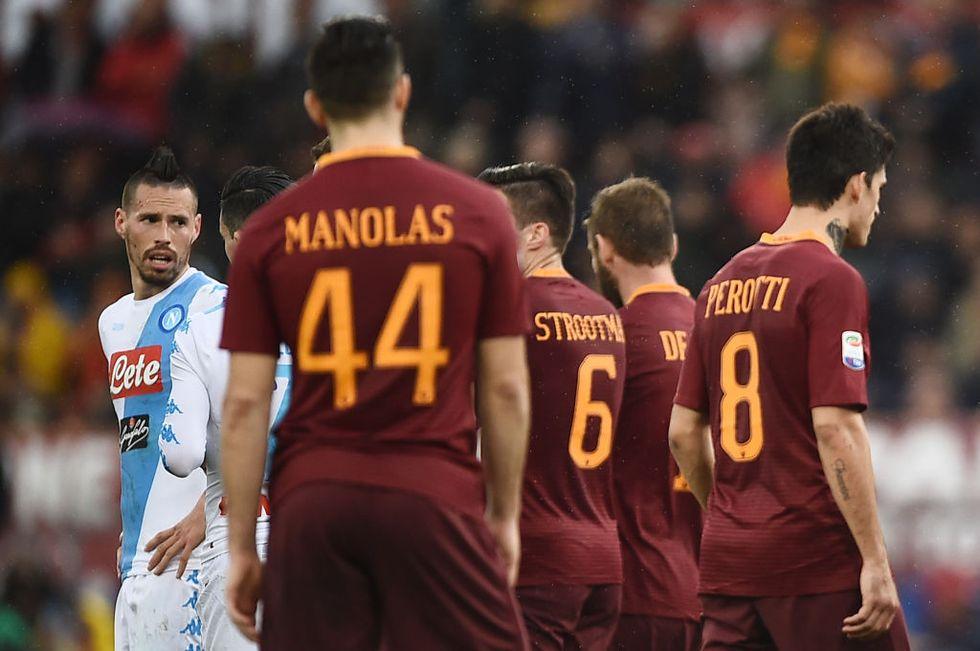 Roma, resa scudetto. Il Napoli consegna il titolo alla Juventus