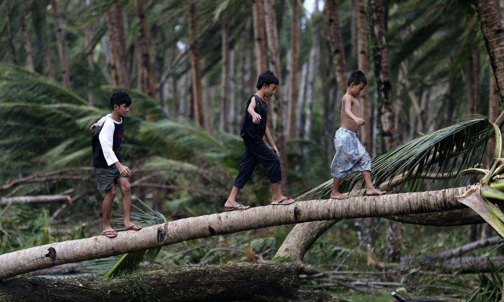 Il tifone Hagupit sulle Filippine - Foto