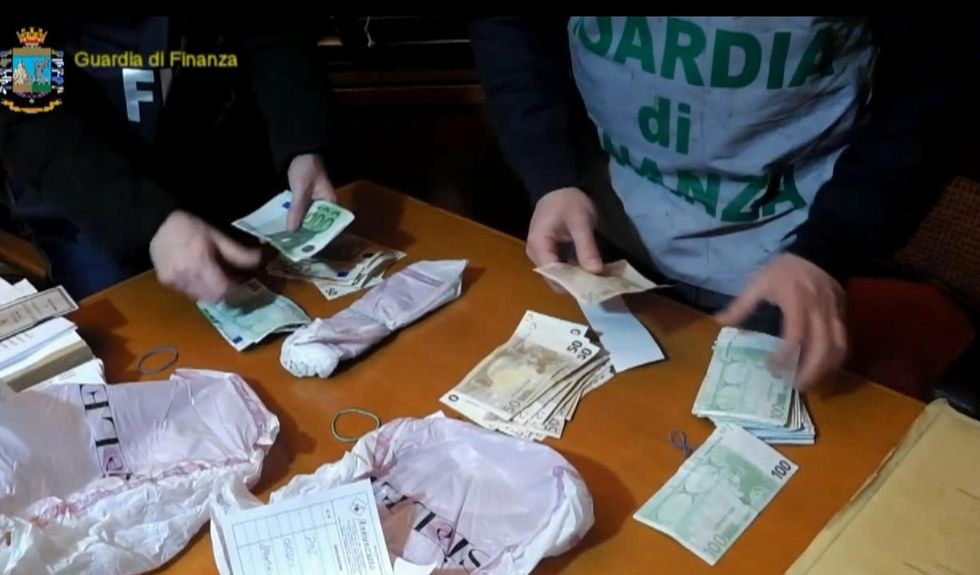 sequestro denaro