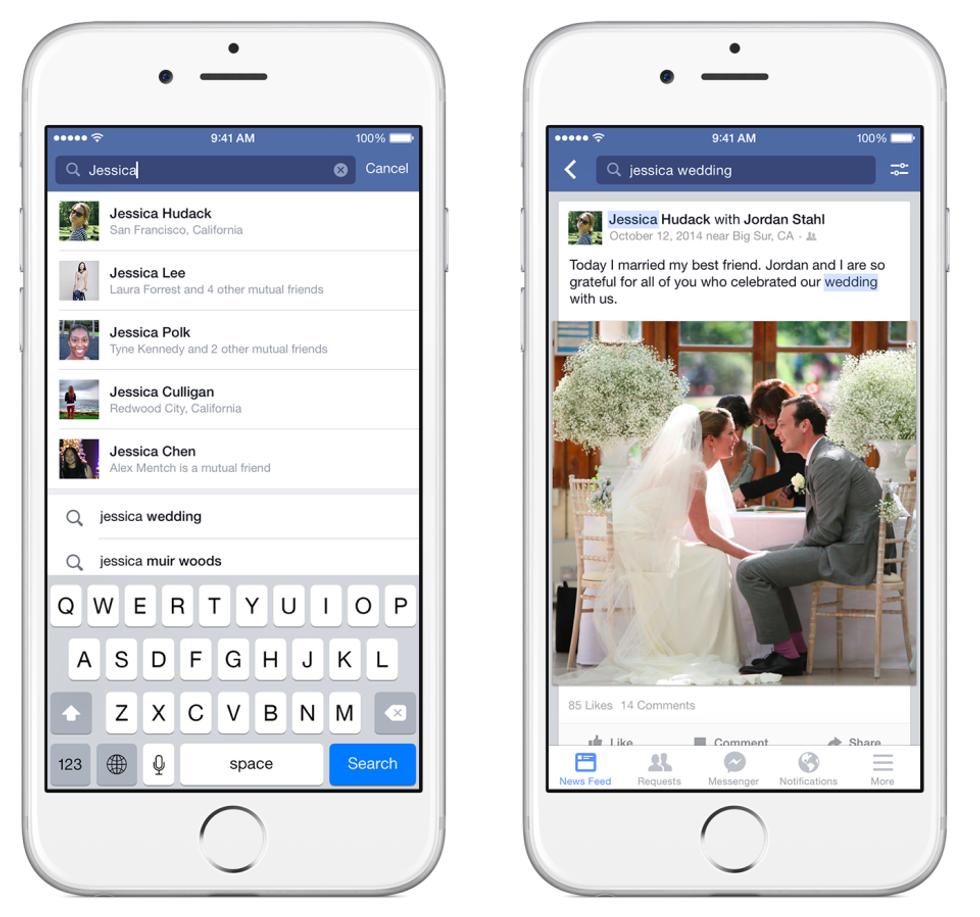 Ecco come cercare vecchi contenuti su Facebook