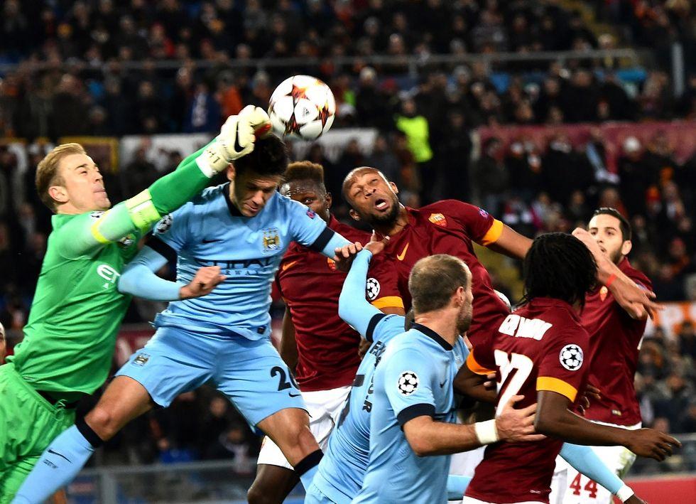 Roma-Manchester City 0-2: giallorossi fuori dalla Champions