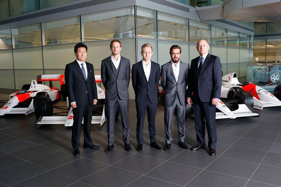 McLaren 2015: Button con Alonso