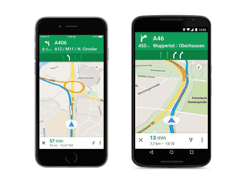 Google Maps ora ti dice su che corsia stare (anche in Italia)