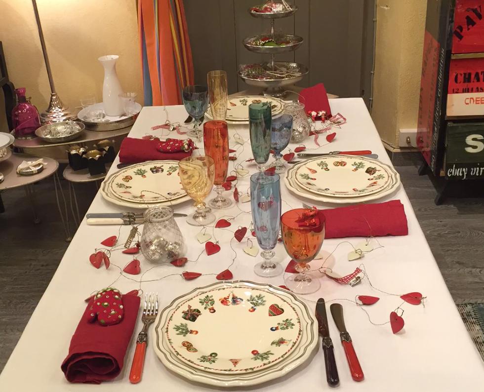 Le tavole di Natale in 5 stili
