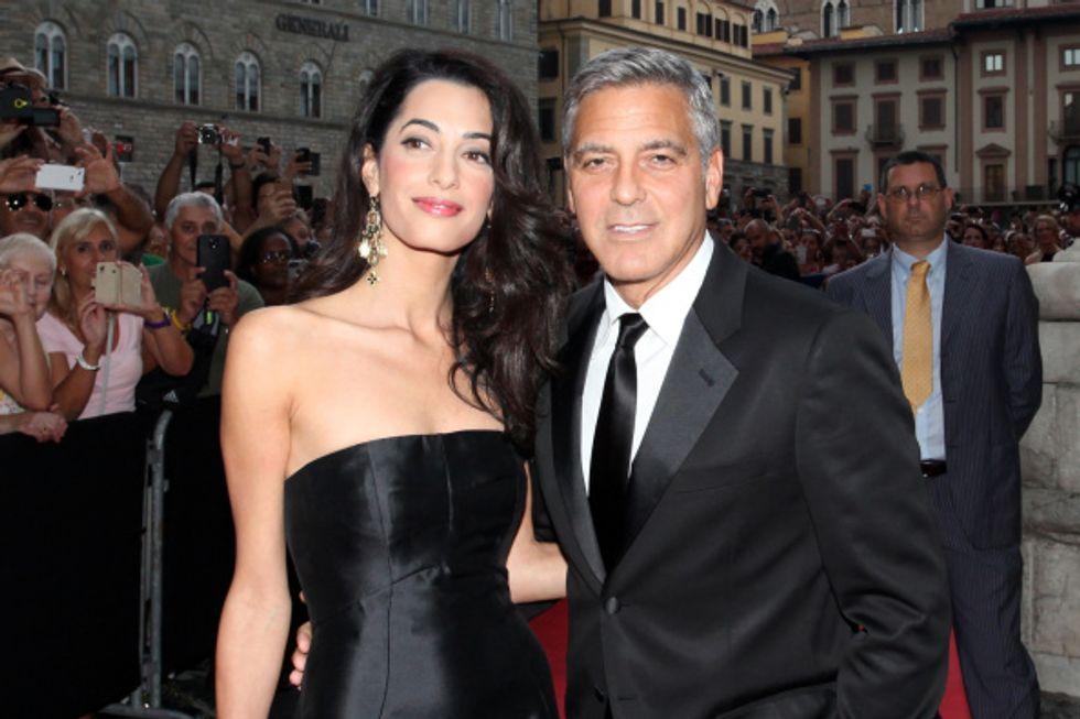 Amal Alamuddin (Clooney) è la più affascinante del 2014
