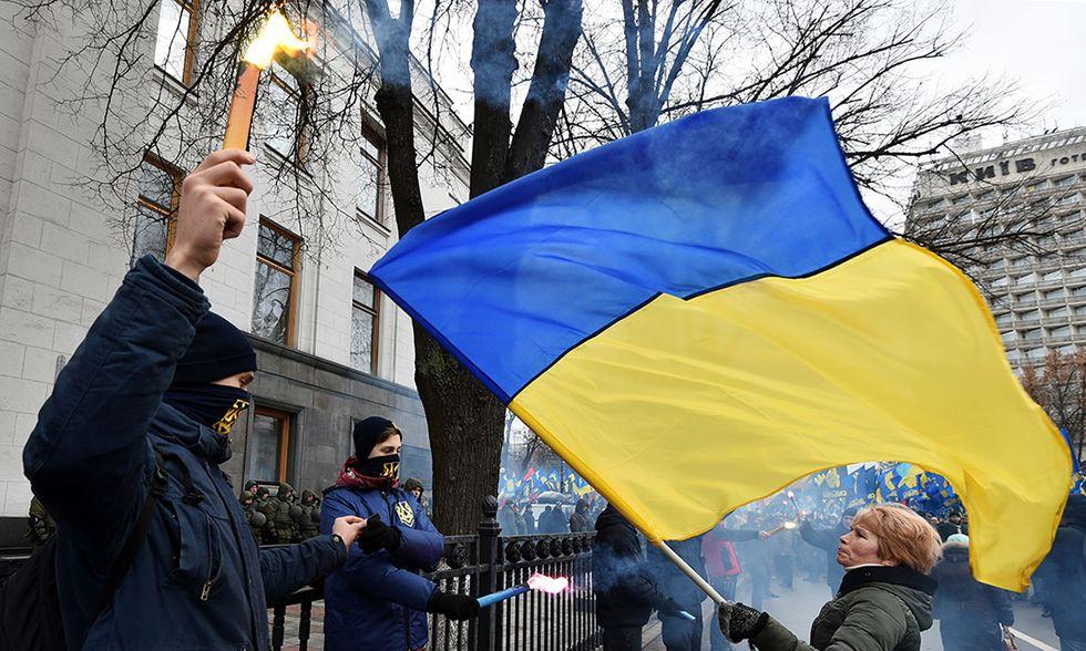 Anniversario Piazza Maidan
