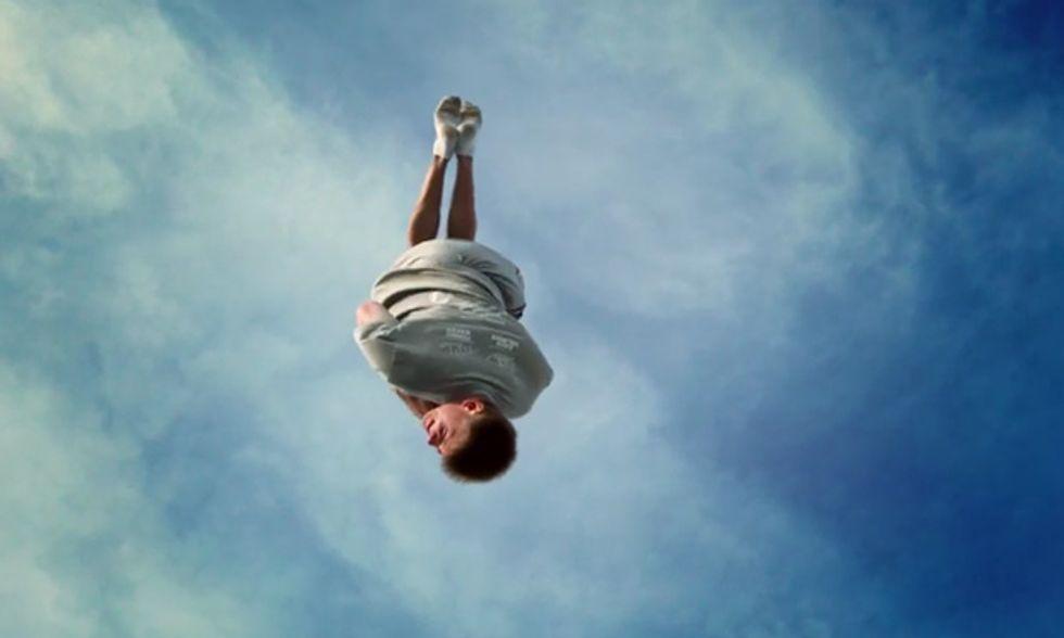 Il trampolino elastico, come non lo avete mai visto