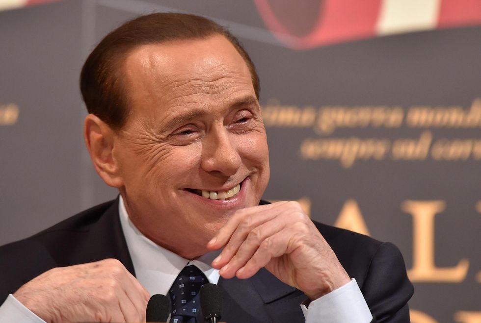 Berlusconi con Renzi sull'elezione del Presidente della Repubblica