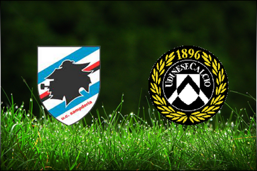 16a giornata,  Sampdoria - Udinese: tutte le news