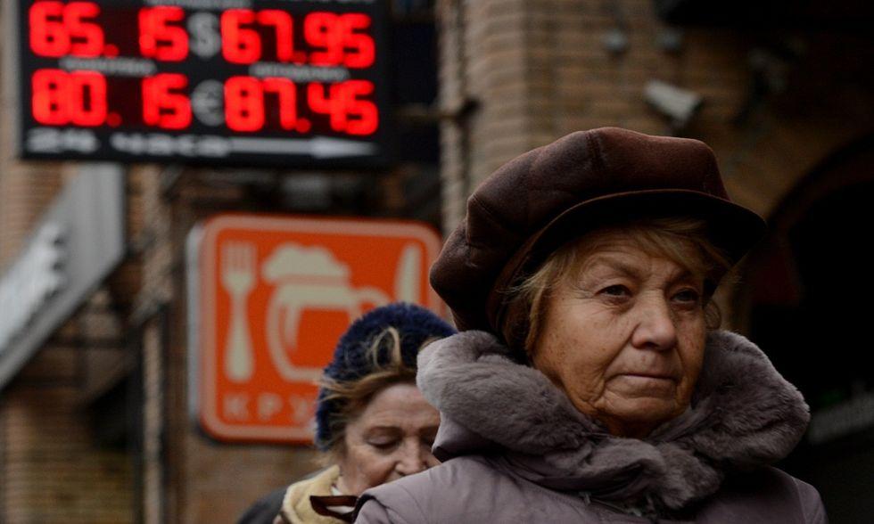 La crisi del rublo per la popolazione russa