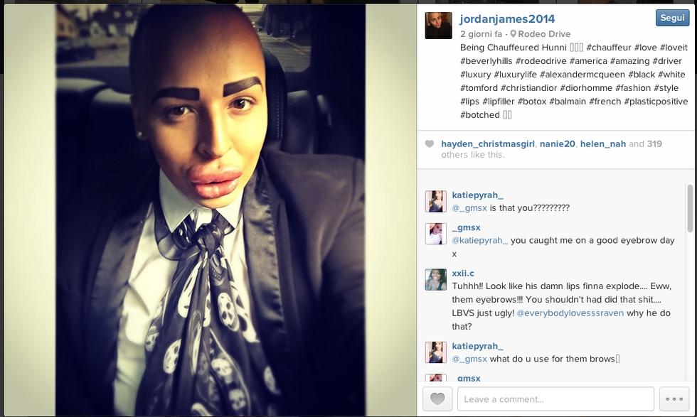 Jordan James Parke: 50 ritocchini per essere come Kim Kardashian