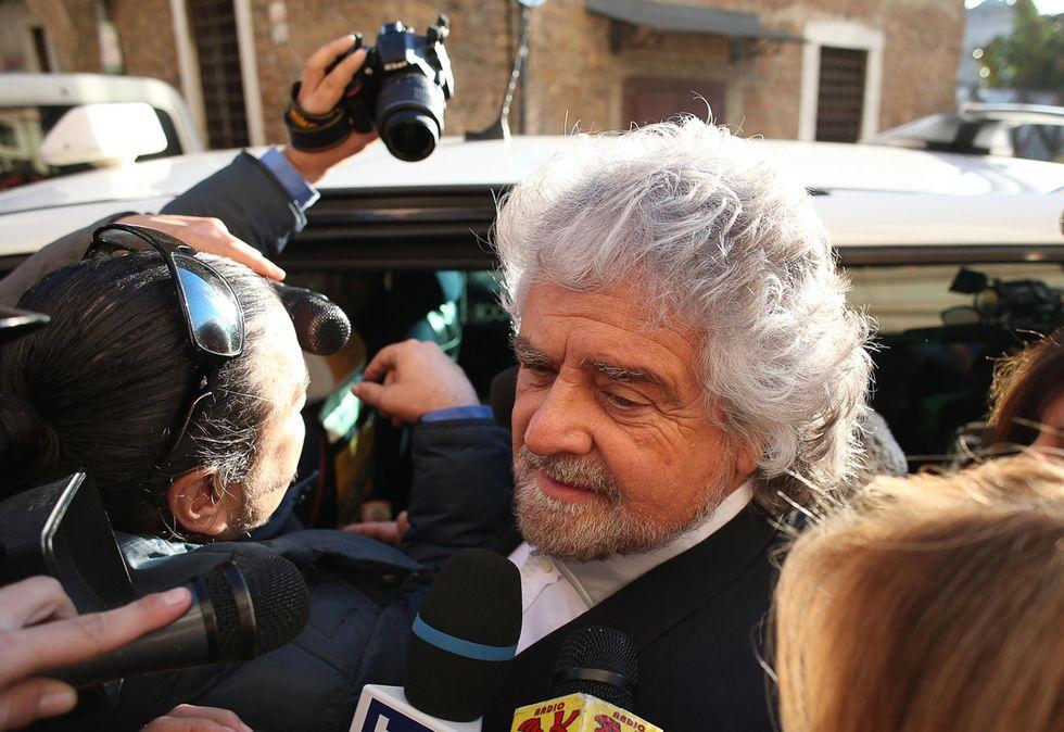 Grillo attacca (di nuovo) Napolitano