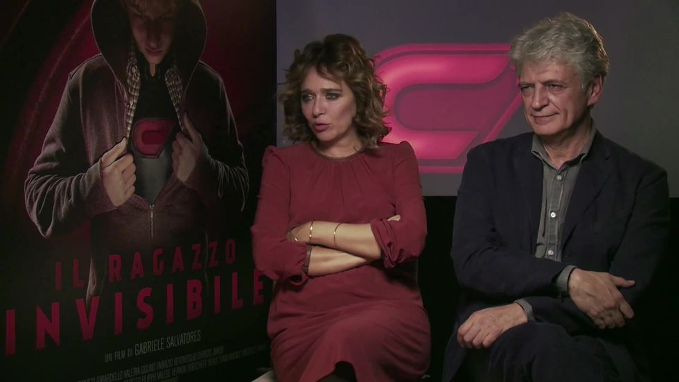 Il ragazzo invisibile, intervista a Valeria Golino e Fabrizio Bentivoglio