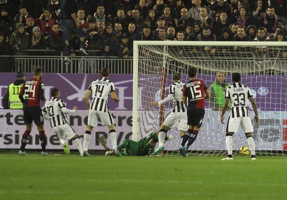 Cagliari-Juventus 1-3: ecco i goal