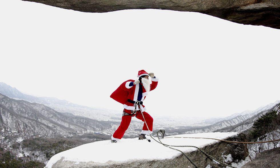 Il trekking di Babbo Natale a Seul