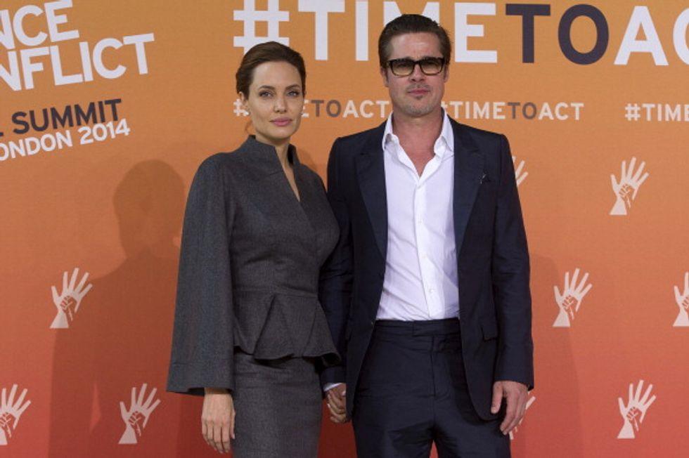 """Angelina: """"Per niente difficili le scene di sesso con Brad"""""""