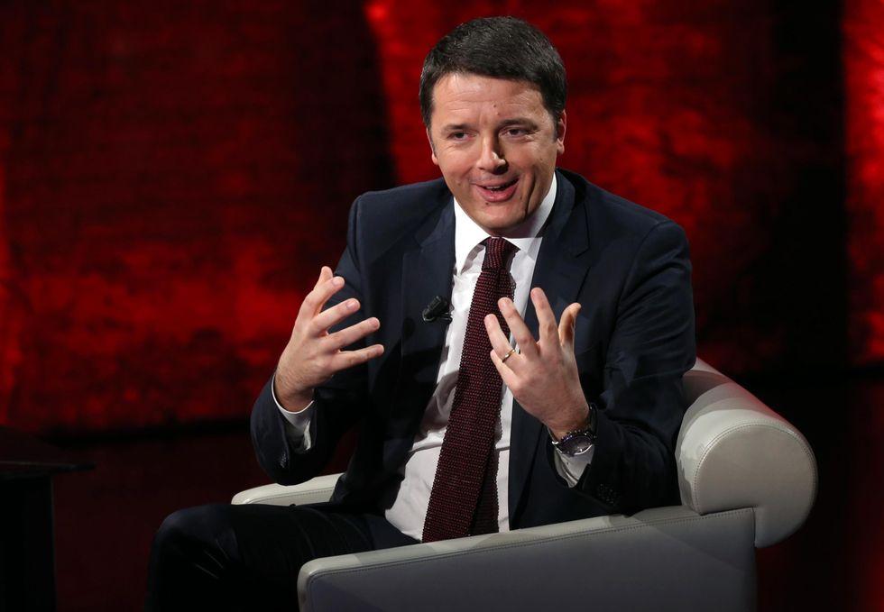 """Renzi: """"Ora chi ruba deve pagare"""""""