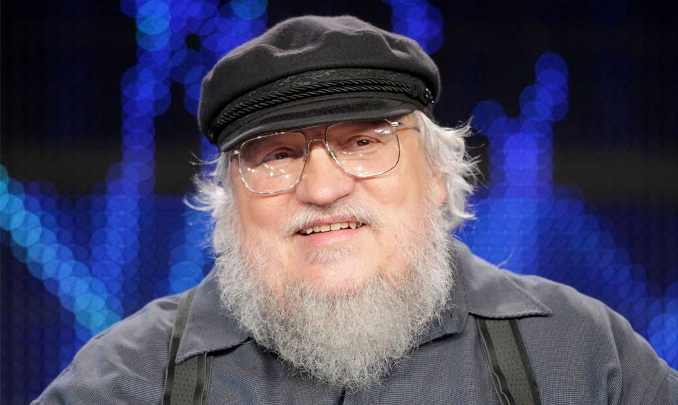 George R.R. Martin offre il suo cinema per 'The Interview'